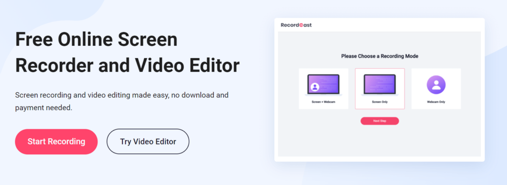 recordcast-screen-recorder-and-video-editor